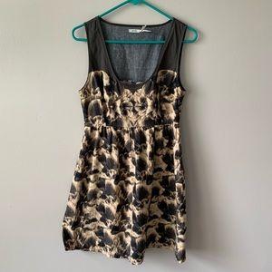 Kimchi Blue Sleeveless Midi Dress Size 6